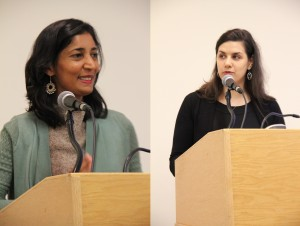 Kiran Desai and Laren McClung